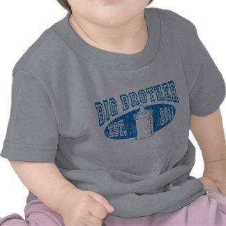 Botella de hermano mayor apenada camisetas