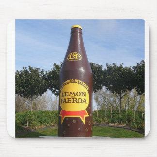 Botella de L&P, Paeroa, NZ Alfombrillas De Ratón