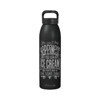Botella de la bebida del amante del helado botellas de beber