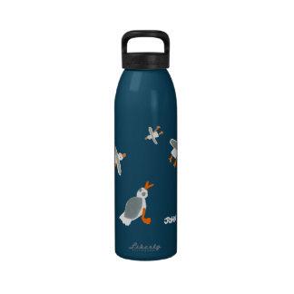 Botella de la bebida del arte Gaviotas el tintóre Botella De Agua Reutilizable