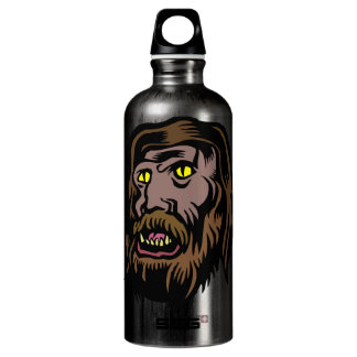botella de la bebida del hombre lobo