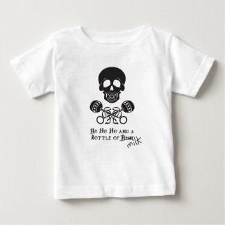 Botella de la camiseta del niño de la leche