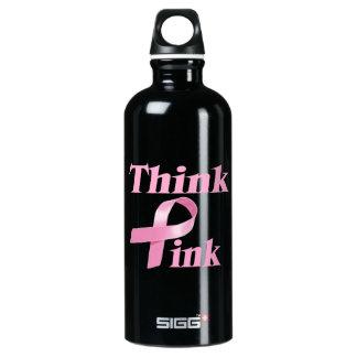 Botella de la conciencia del cáncer de pecho