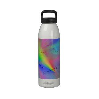 Botella de la hidración de las aspiraciones botella de agua reutilizable
