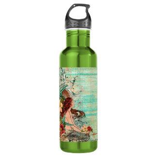 """Botella de la libertad/bote """"sirena del SeaShell """""""