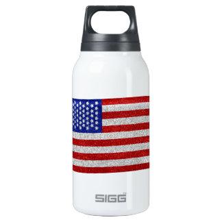 Botella de la libertad de la bandera americana del