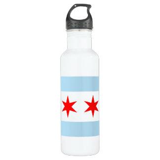 Botella de la libertad de la bandera de Chicago