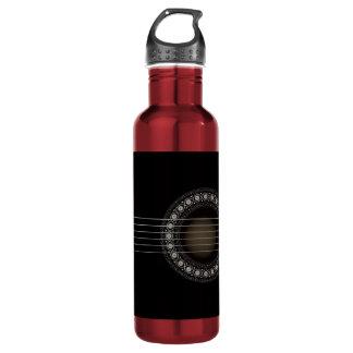 Botella de la libertad de la guitarra acústica