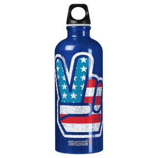 Botella de la libertad de la paz