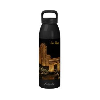 Botella de la libertad de Las Vegas Botella De Agua Reutilizable