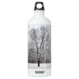 Botella de la libertad de los árboles Nevado