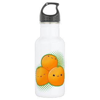 Botella de la libertad de los naranjas de Kawaii