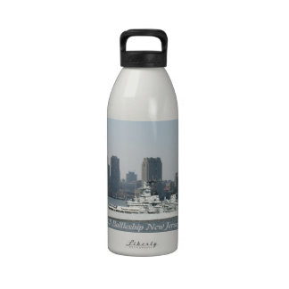 Botella de la libertad de New Jersey del acorazado Botellas De Agua Reutilizables