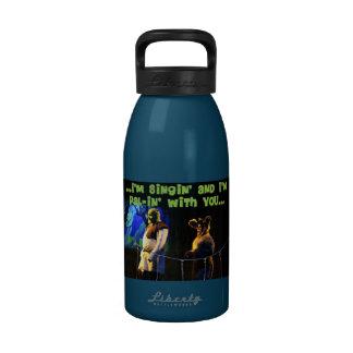 Botella de la libertad de Singin y de PAL-in' Botella De Agua