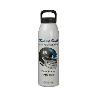 Botella de la libertad del casco de fútbol america botellas de beber