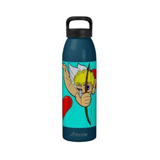 botella de la libertad del cupid botellas de agua reutilizables