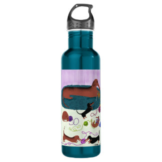 Botella de la libertad del Dachshund que hace