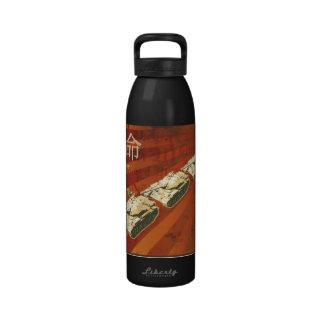 Botella de la libertad del hombre del tanque botallas de agua