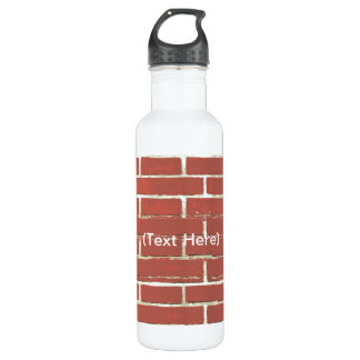 Botella de la libertad del ladrillo rojo