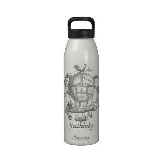 Botella de la libertad del librepensador botella de beber