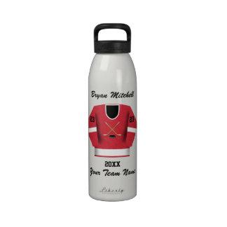 Botella de la libertad del nombre del jugador de h botellas de agua reutilizables