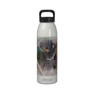 Botella de la libertad del oso de koala botella de agua reutilizable