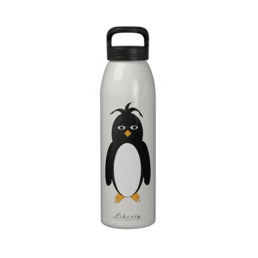 Botella de la libertad del pingüino botella de beber