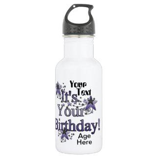 Botella de la libertad del recuerdo del cumpleaños