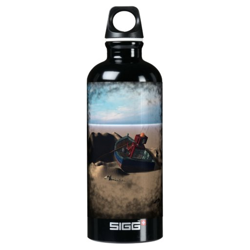 Botella de la libertad del robot del barco de fila
