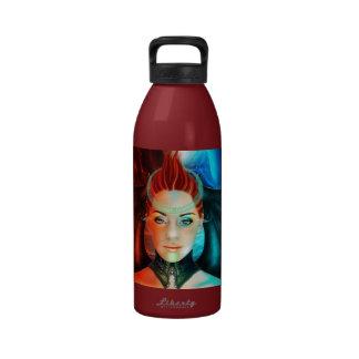 Botella de la libertad del súcubo del espacio botellas de agua reutilizables
