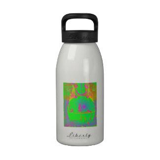 Botella de la libertad - limón verde fluorescente botella de agua reutilizable