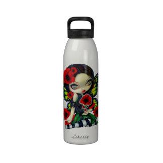 """Botella de la magia de la amapola"" Botella De Agua Reutilizable"