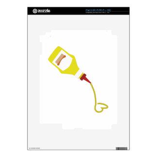 Botella de la mostaza iPad 2 skins