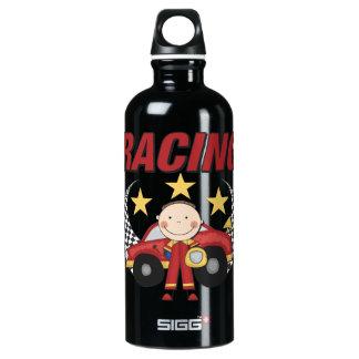 Botella de los deportes el competir con de coche