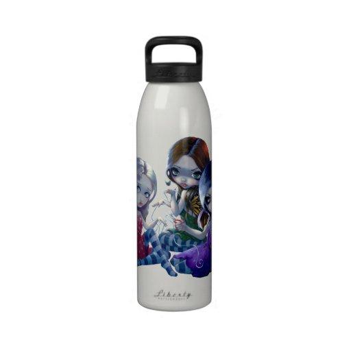"""Botella """"de los tres sinos"""" botella de agua"""