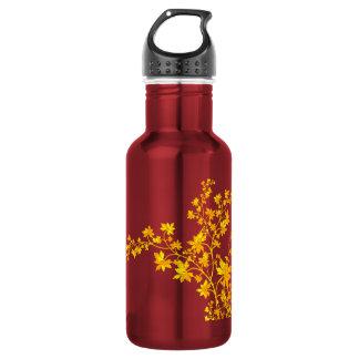 Botella de oro de la libertad de las hojas 32oz