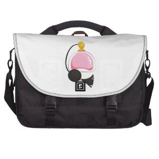 Botella de perfume bolsas de portatil