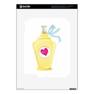 Botella de perfume iPad 3 pegatina skin