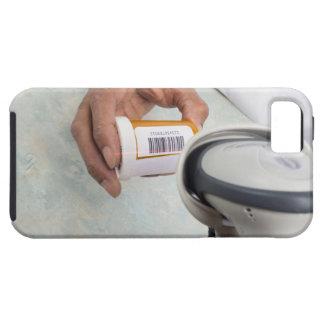 Botella de píldora de la exploración del farmacéut iPhone 5 fundas