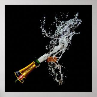 Botella de poster /de impresión de Champán