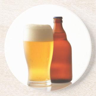 Botella de práctico de costa de la cerveza posavasos personalizados
