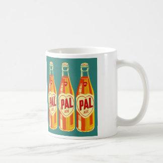 Botella de soda de PAL de las bebidas del vintage Taza