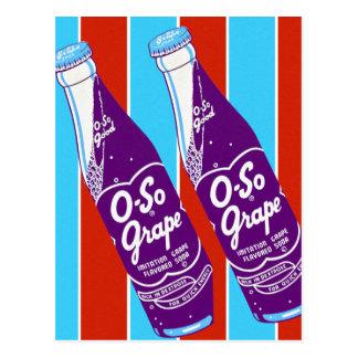 Botella de soda retra de las bebidas de Ktsch del Postales