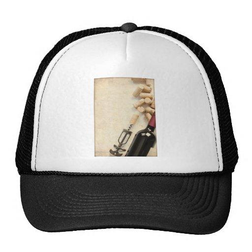 Botella de vino gorra