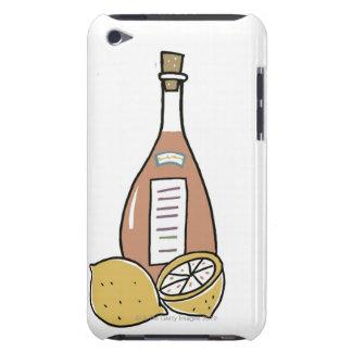 Botella de vino rojo barely there iPod funda