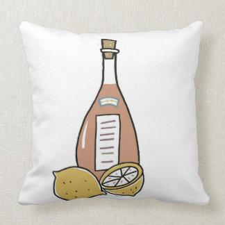 Botella de vino rojo cojín