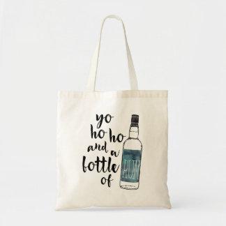 Botella de Yo Ho Ho de la bolsa de asas del ron