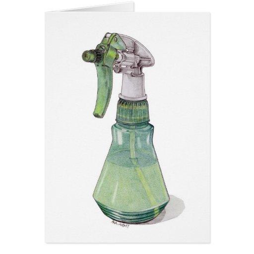 Botella del aerosol felicitaciones