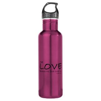 Botella del amor (1 4:19 de Juan)
