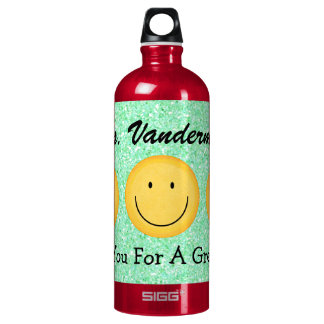 Botella del aprecio del profesor - SRF